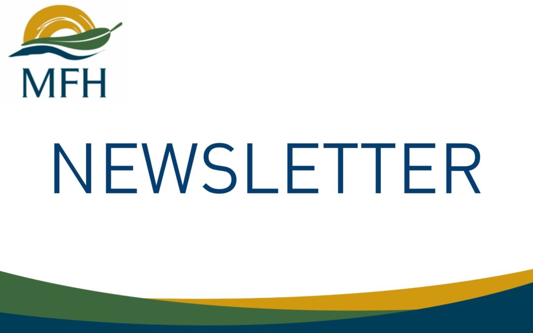 MFH NEWSLETTER – September 2018