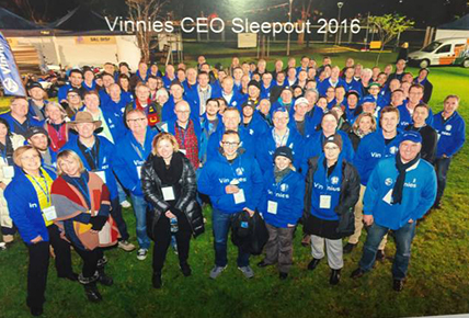 CEO Sleep Out